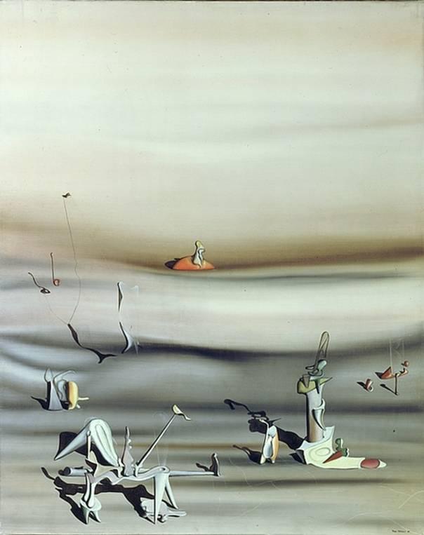 Jour de lenteur, Yves Tanguy