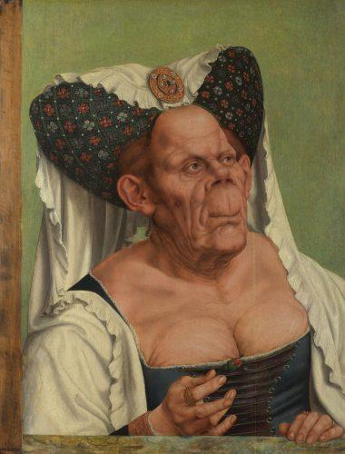 A Grotesque old woman