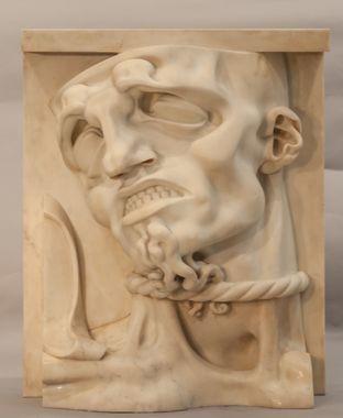 Adolfo Wildt, Il prigione, 1915, Collection Diego Gomiero, Padoue, Italie