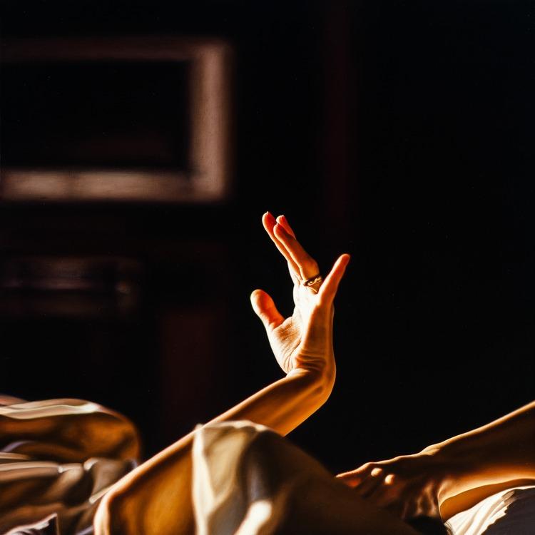 Damian Loeb, Atmosphere, huile sur toile, 2010