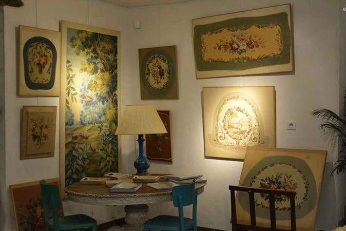 Cartons de tapisserie de l'atelier-musée des cartons de tapisserie