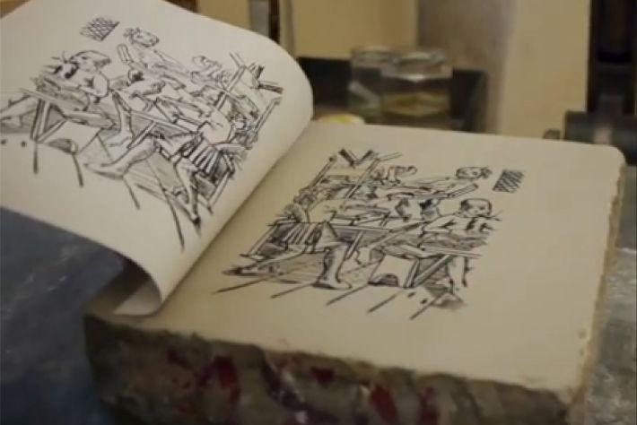 Impression en lithographie
