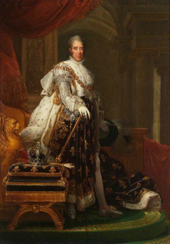 Portrait de Charles X