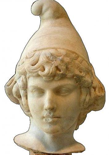Buste d'Attis portant le bonnet phrygien