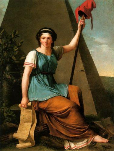 La Liberté, tableau néoclassique