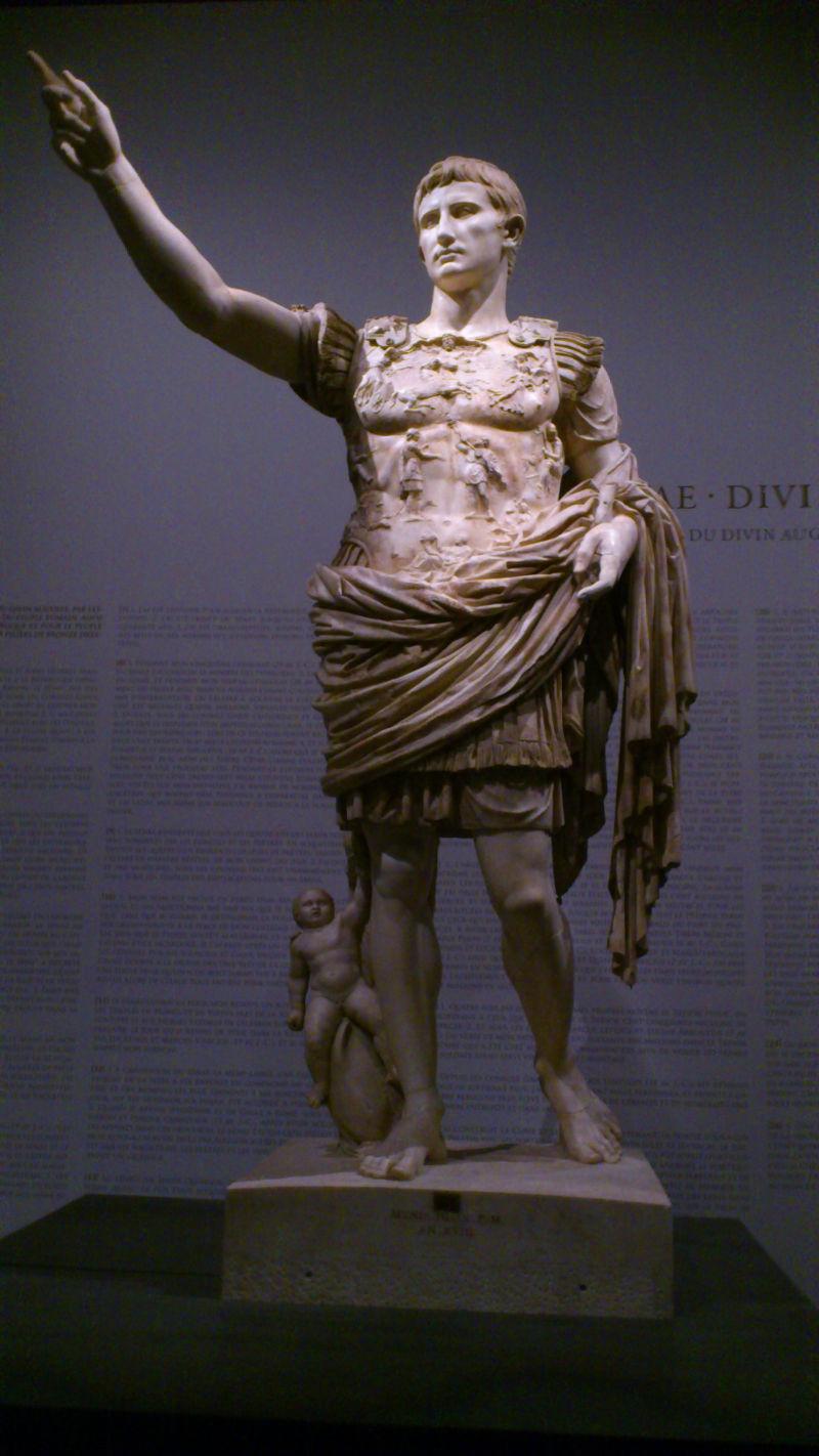 Statue d'Auguste de Prima porta