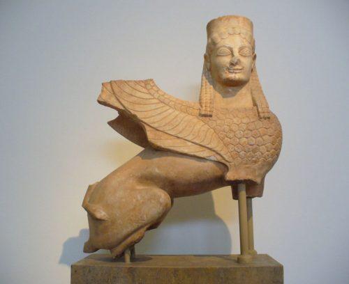 Exemple de sculpture taille en ronde-bosse