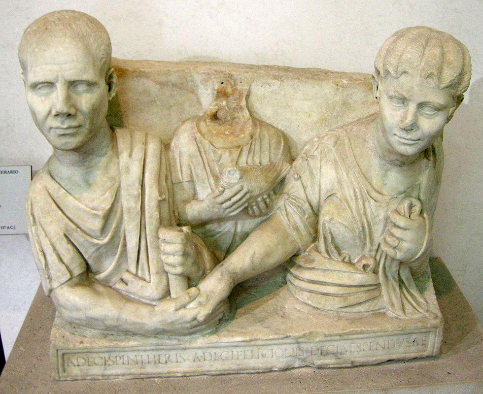 Exemple de sculpture taille en haut-relief