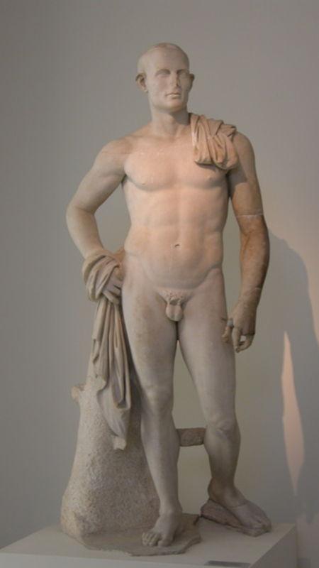 Pseudo athlète de Delos