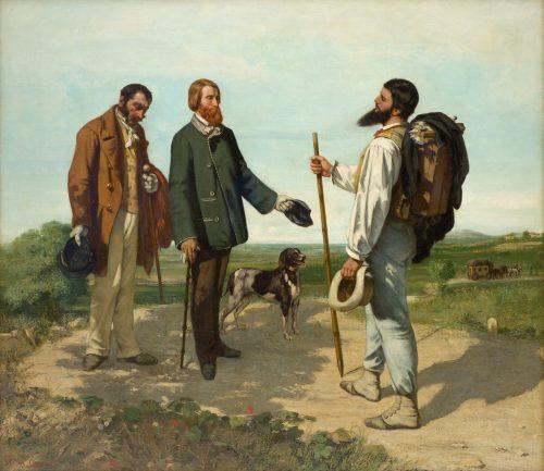 La rencontre ou Bonjour, Monsieur Courbet