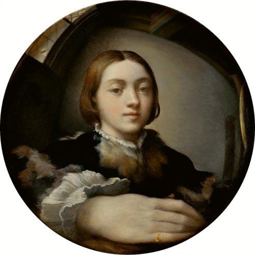 Autoportrait au miroir convexe