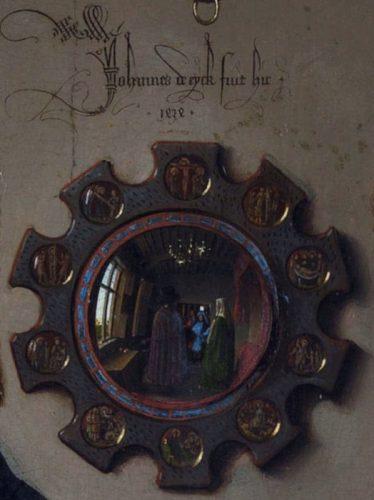 Les Epoux Arnolfini (détail)