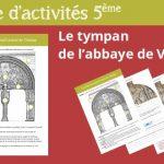 Fiche produit tympan de Vézelay